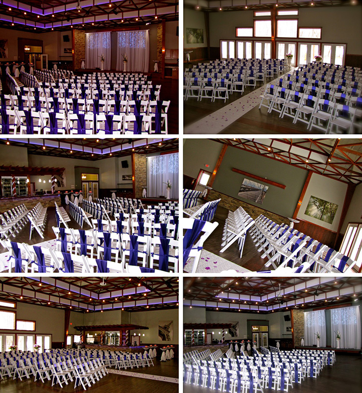 Winter Weddings - Winter Wedding - Winter Wedding Ceremony and Reception at Celebrations on the River La Crosse, WI