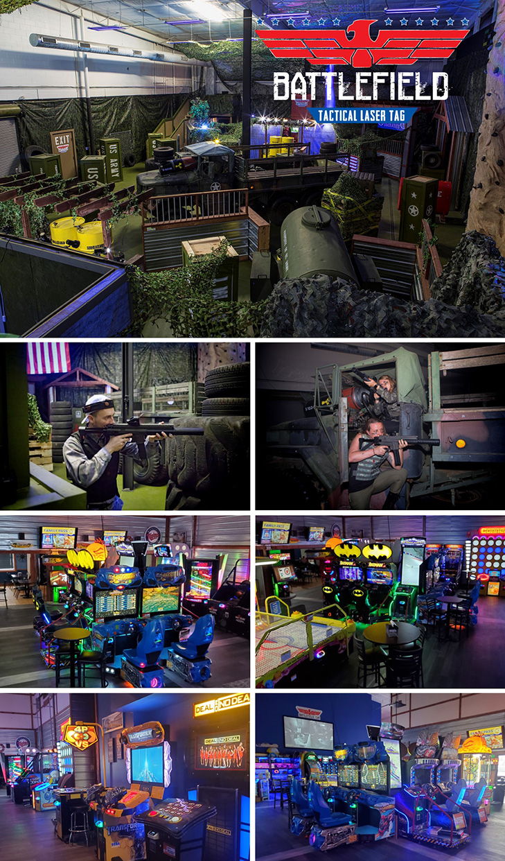 Easter Sunday Play Pass at Shenanigans with Laser Tag, Arcade Games, Virtual Reality and More.