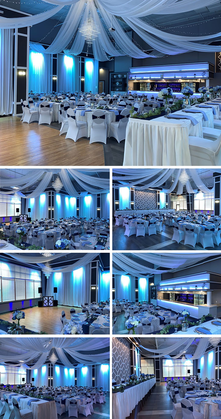 Serenity Hall at Celebrations on the River in La Crosse, WI. Wedding Venue, Banquet Hall in La Crosse, WI