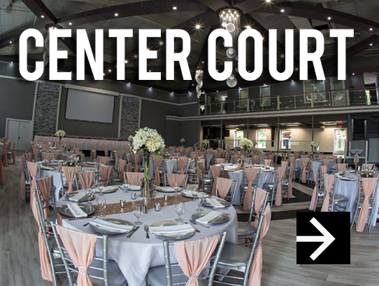 Center Court Riverside Wedding Venue at Celebrations on the River in La Crosse, WI